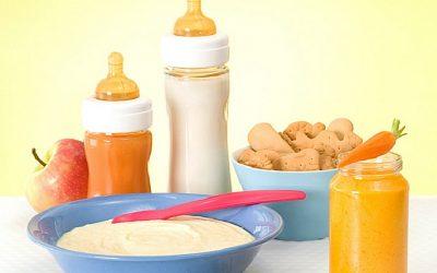 تغذیه نوزاد، شیرخوار و کودک